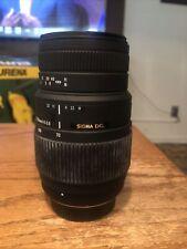 Sigma 70-300mm f/4-5.6 DG Macro AF Lens For Nikon