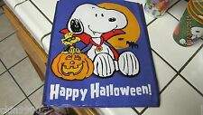 SNOOPY TRICK OR TREAT VYNAL BAG SNOOPY VAMPIRE NEW W/TAGS