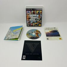 New listing Grand Theft Auto V, Gta 5, Playstation 3, Ps3 - Complete With Map Cib