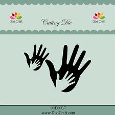 Dixi Crafts Cutting Die  HANDS DCMD0037