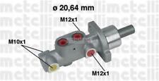 Pompa freno Ø20,64 M10x1 (2), M12x1 (2) Peugeot 206 (2A/C) tt 98>07; 306 tt 94>0