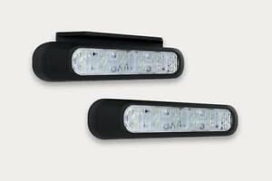 LED BLITZLEUCHTE WARNLEUCHTE - 6 PROGRAMME 12/24V 132,2 x 28,2 x 19,1 mm BLAU !!