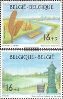 Bélgica 2634-2635 (completa.edición.) nuevo con goma original 1995 museos