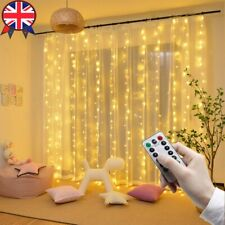 LED Copper Wire Fairy String Lights Curtain Window Christmas Party Wedding Decor