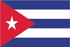 ADESIVO BANDIERA FLAG CUBA DECAL STICKER