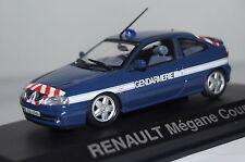 """Renault Megane Coupe 2001 """"gendarmería"""" 1:43 norev nuevo & OVP 517672"""