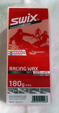 SWIX Skiwachs Universal Rennwachs rot  180 Gramm Packung