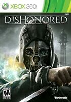 Dishonored ( Xbox 360 ) Disk Only TESTED.