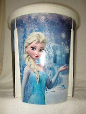New - Disney- Frozen Storage Bin, Toy Box, Hamper, (2 pack) Anna, Elsa, Olaf