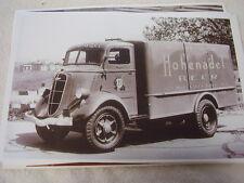 1936 STUDEBAKER HOHENADEL BEER TRUCK   11 X 17  PHOTO  PICTURE
