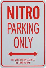 NITRO Parking Only Sign - Dodge