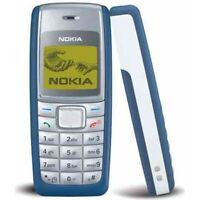 New Nokia 1110i - Blue & Black 2G Mobile Phone Unlocked