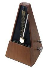 B-ware Classic Cantabile Metronom M02 mit Glocke Taktgeber TAKT braun