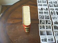 Raumbild-Verlag  book with 168 B/W 3-D pictures and stereoscopic glasses