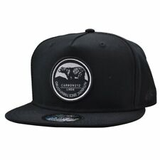 CARBON 212 LNDN AUTHENTIC BEAR PATCH BLACK SNAPBACK CAP
