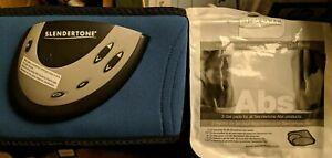 Slendertone Flex Pro Abs5 Abdominal Muscle Toner Belt Core Toning Gel Pads Bag