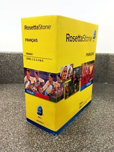 Rosetta Stone-French, Version 4, Levels 1-5 for PC, Mac new, sealed