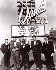 The Rat Pack Dean Martin Sammy Davis Jr. & Frank 8 x 10 GLOSSY Photo Picture 2