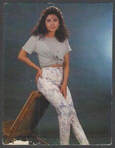 India Bollywood promotional pocket calendar Actress JUHI CHAWLA