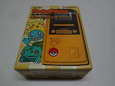 Pocket Printer Pikachu Yellow Nintendo Game Boy Japan NEW
