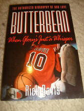 Butterbean, The Authorized Biography Of Bob Love by Rick Davis - 1994, signed