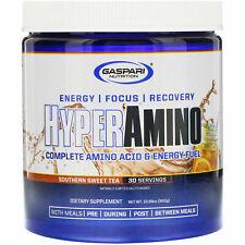 Gaspari Hyperamino Complete Amino Acid Energy Fuel 30 Serves Southern Sweet Tea