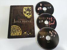 SAGA CREPUSCULO LUNA NUEVA TWILIGHT 3 DVD EDIC ESPAÑOLA Coleccionista STEELBOOK