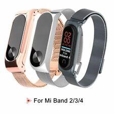 Stainless Steel Strap For Xiaomi Mi Band 4 3 2 Wristband Watch Smartwatch Luxury