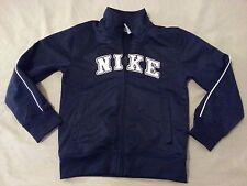Boys Nike Full Zip Jacket 6 Navy Blue Atheltic
