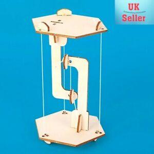 Building Blocks Anti-Gravity Wood Tensegrity Structure Floating Table. DIY. UK