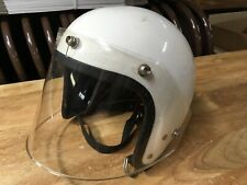 60s vintage Buco helmet Grand Prix Face Shield Ormond Beach FL USA Nice Liner
