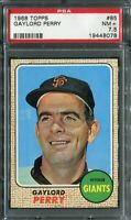 1968 Topps #85 Gaylord Perry PSA 7.5 NM+