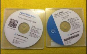 Set of 2 Agilent CDs: 33500 Waveform Generator/33503A BenchLink Builder Pro