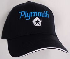 Hat Cap Licensed Plymouth Black HR 232