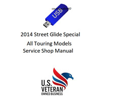 Service Manual For 2014 Harley Davidson Street Glide Special Flhxs Tour Models