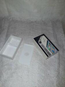 Boîte Vide iPhone 4 blanc sans accessoire