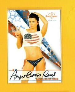 D14848 2017 Bench Warmer America the Beautiful Autographs Angel Boris Reed