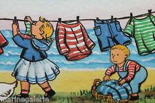 petits tableaux décoration chambre enfant bébé 2 cadres mer breton marine neuf
