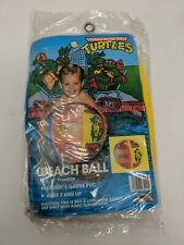 1990 Mirage Studios Teenage Mutant Ninja Turtles TMNT Beach Ball New SEALED  #A1