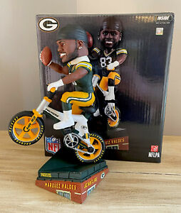 MARQUEZ VALDES-SCANTLING Green Bay Packers Rookie Camp EXCLUSIVE Bobblehead NIB!