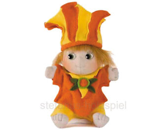 Chanterelle von RubensBarn Rubens Barn Linné Stoffpuppe Puppe orange/gelb 10048