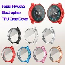 for Fossil Sport Smart Watch 41mm TPU Watch Case Electroplate Screen Protector