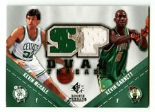 2008-09 Kevin Garnett McHale SP Game Used Dual Threads GU Patch SP Celtics HOF