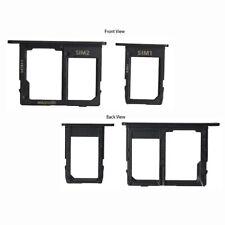 For Samsung Galaxy J6 2018 Micro SD Sim Card Tray Holder Slot + SIM1 J600F Black