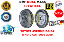 Für Toyota Avensis 2.0 2.2 D - 4d D-Cat 2005-2008 Neu Doppelte Masse Dmf