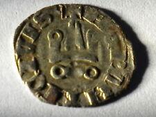 1625.  crusader crusander denar 1297-1305 Princedom of Acaia Philip of Taranto