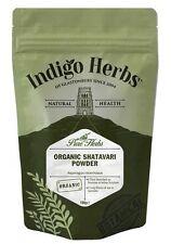 Organic Shatavari Powder - 100g - Indigo Herbs
