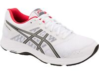 ASICS GEL-CONTEND 5 Men's Running Shoes Walking Sneakers White NWT 1011A256-100