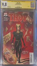 THOR #10 CGC 9.8 Signed By Donny Cates