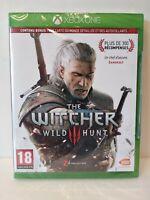The Witcher 3: Wild Hunt - XBOX ONE - Version Française Region Free - Neuf/New